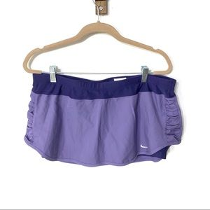 NIKE | dri fit skirt with built in spandex